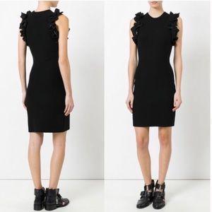 NWT 👗 3.1 Phillip Lim 👗 Black Ruffle Tank Dress